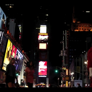 "DS4586 – Urban Series – ""Times Square 3 AM "" – 15mn – Full HD"